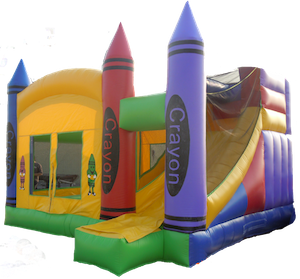 Crayola Bouncy Castle With Slide